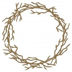 Circular Twig Frame