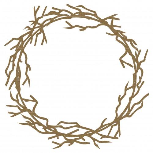 Circular Twig Frame - Frames