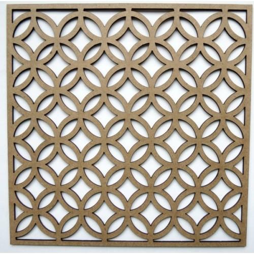 "Circle Lattice Panel - 6"" x 6"" Lattice Panels"