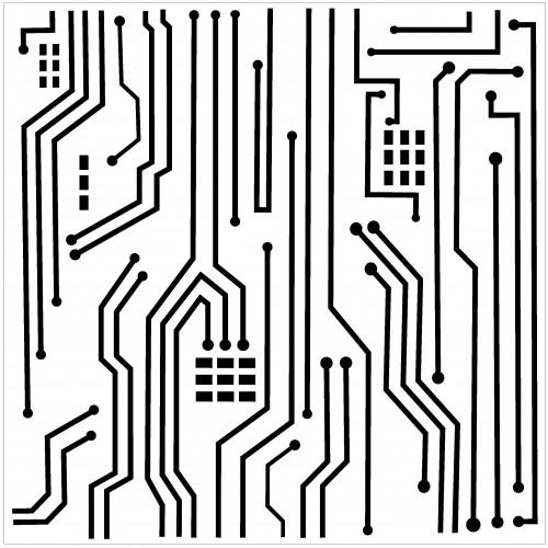 Circuit Stencil - Stencils