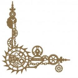 Steampunk Clock Corner