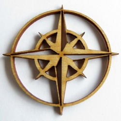 Compass Rose Set of 6