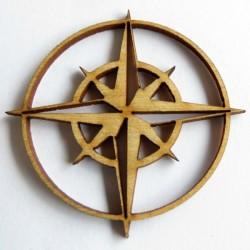 Compass Rose Set of 6
