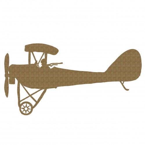 Biplane 1 - Chipboard