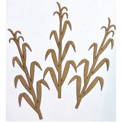 Corn Stalks Set of 3