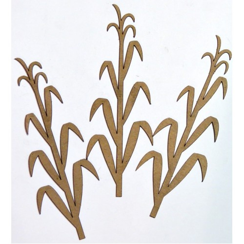 Corn Stalks Set of 3 - Fall