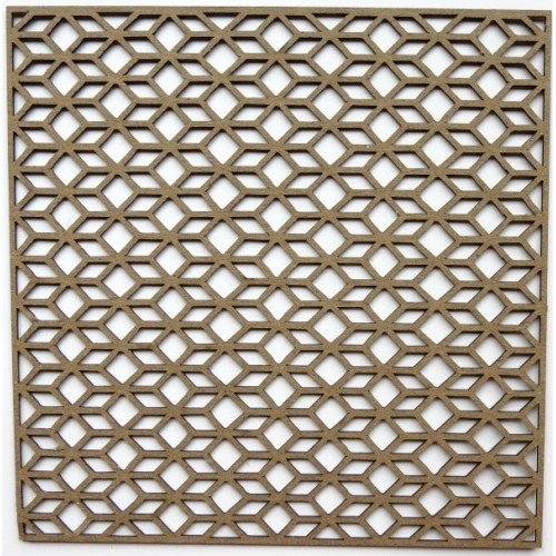 "Diamond Parallelogram Panel - 6"" x 6"" Lattice Panels"