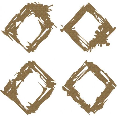 Grunge Diamonds - Shapes