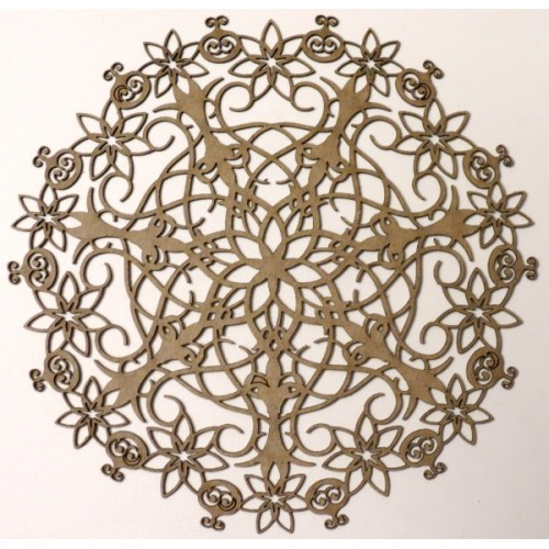 Doily - Chipboard