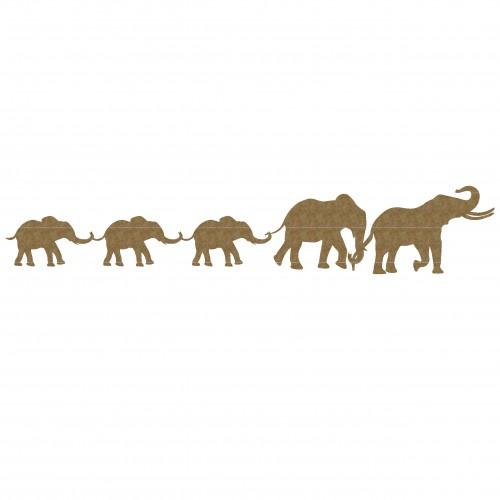 Elephant Border - Animals