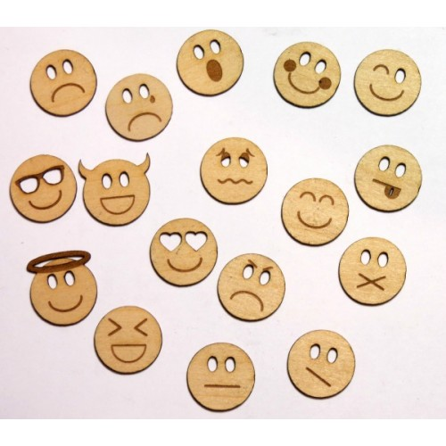 Emoticons - Wood Veneers
