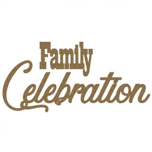 Family Celebration - Words