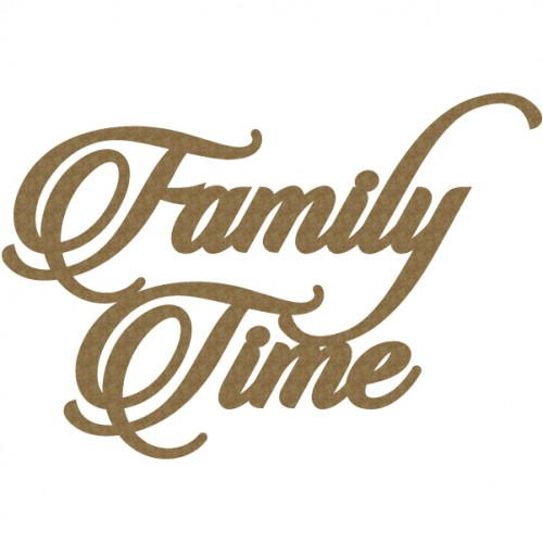 Family Time - Words