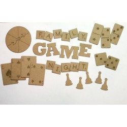 Family Game Night Pieces