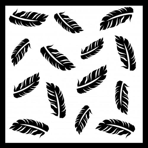 Feather Stencil - Stencils