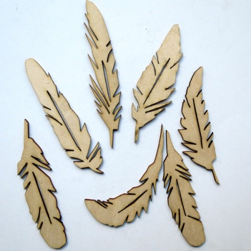 Feathers - Wood Veneers