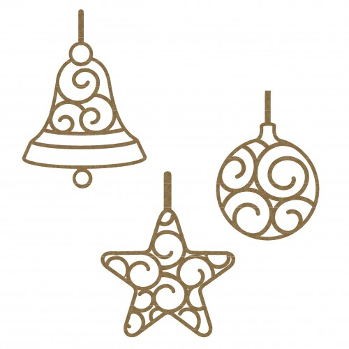 Intricate Ornaments - Christmas