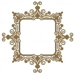 Intricate Square Frame