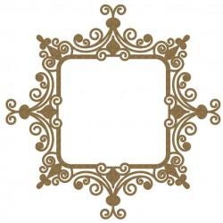 Intricate Square Frame