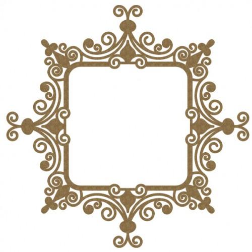 Intricate Square Frame - Frames