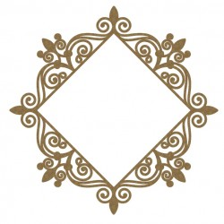 Intricate Diamond Frame