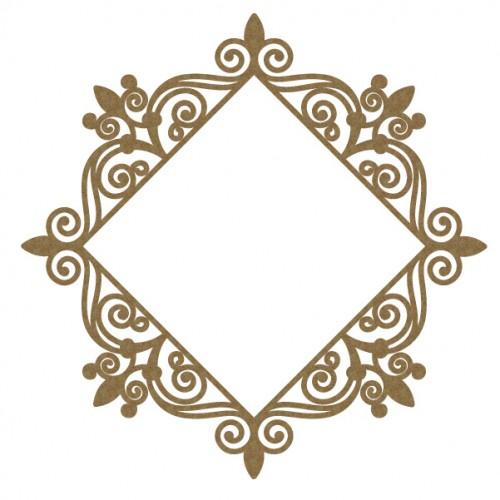 Intricate Diamond Frame - Frames