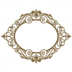 Oval Intricate Frame