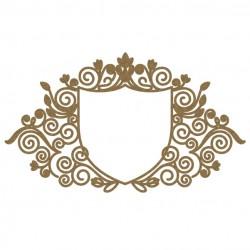 Intricate Heraldry Frame