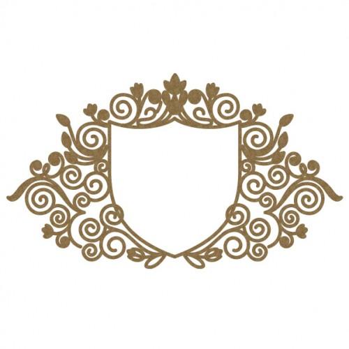 Intricate Heraldry Frame - Frames