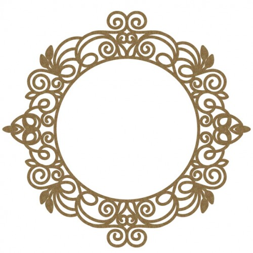 Intricate Circle Frame - Frames