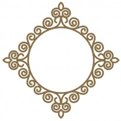 Intricate Circle Frame 2