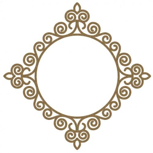 Intricate Circle Frame 2 - Frames