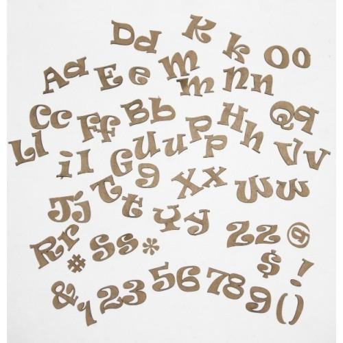 Funky Alphabet - Alphabets
