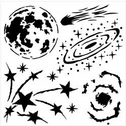 Galaxy Stencil