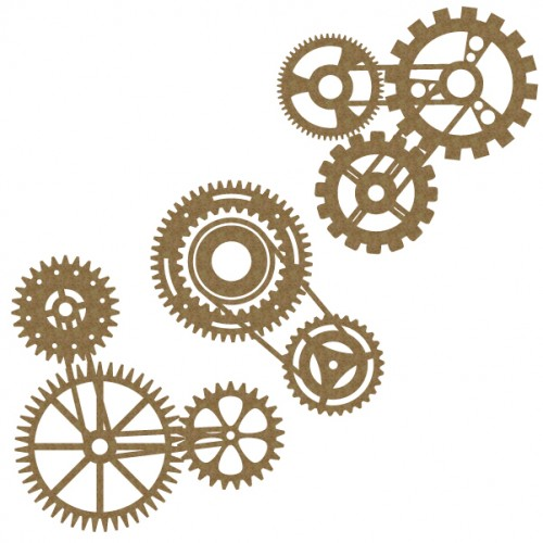 Gear Cluster Set 2 - Steampunk