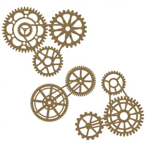 Gear Cluster Set - Steampunk