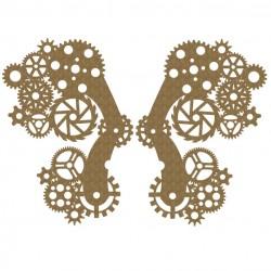 Steampunk Gear Wings