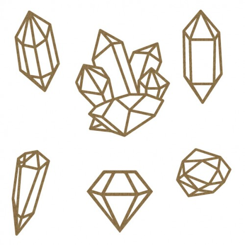 Gems - Chipboard
