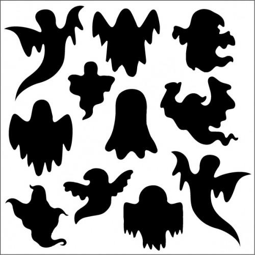 Ghost Stencil - Stencils