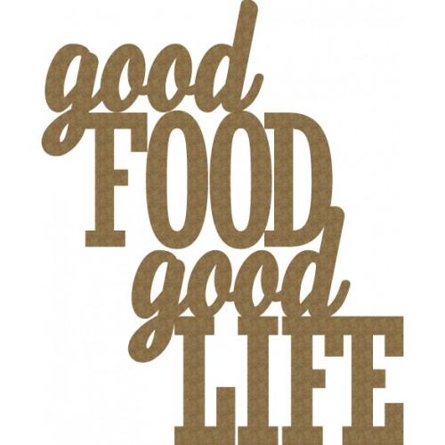 good Food, good Life - Words