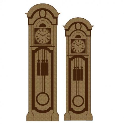 Grandfather Clocks - Chipboard
