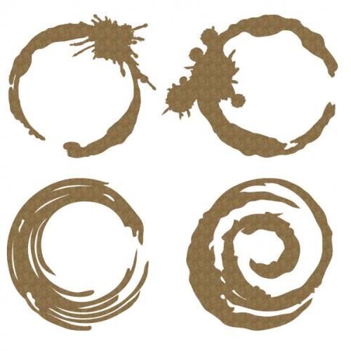 Grunge Circles - Shapes