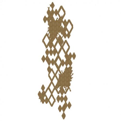 Grunge Harlequin Piece - Shapes