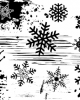 Grunge Snowflake Stamp - Backgrounds