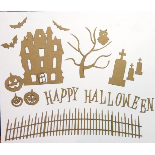 Halloween Scene Set 1 - Halloween
