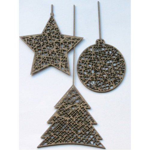 Hanging Ornaments - Christmas