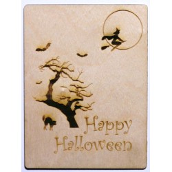 Happy Halloween 3 x 4 Card