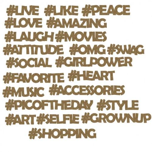 Hashtag Set 2 - Words