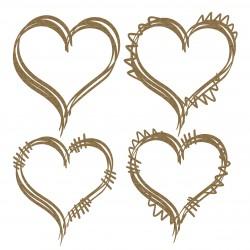 Heart Doodle Frames