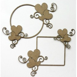 Heart Frame Set